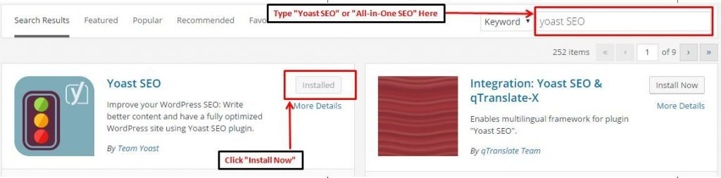 Learning On page SEO wth YOAST