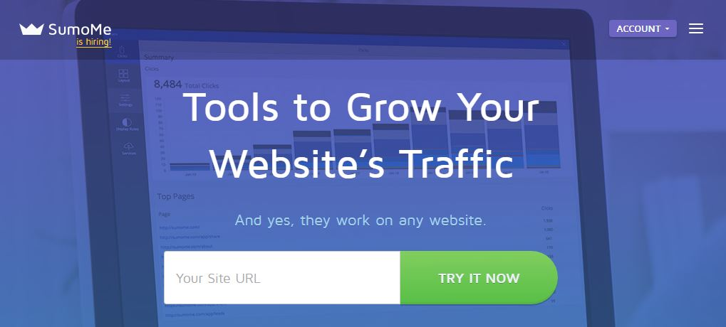 How to speed up a website using SumoMe