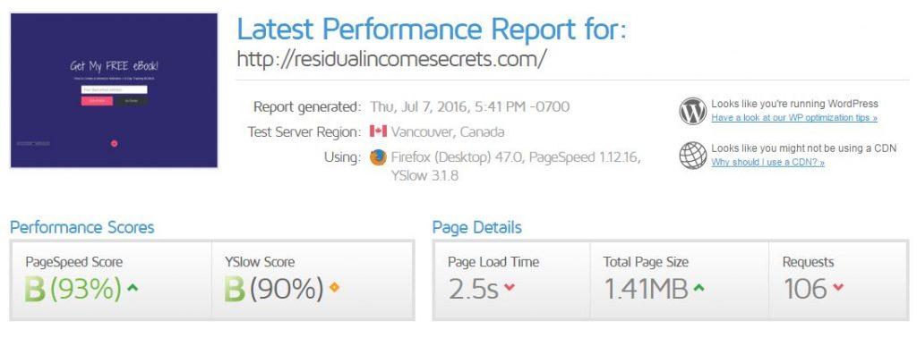 How to speed up your website - use gtmetrix to analyze