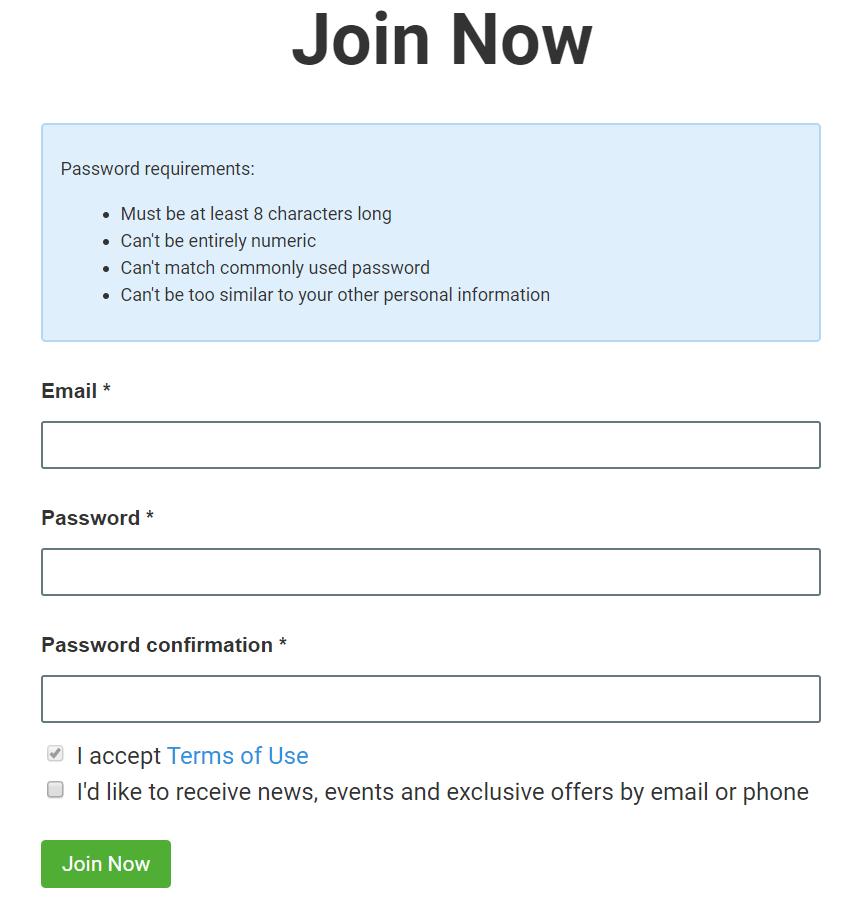 SEMRush BeRush High Paying Affiliate Program Form