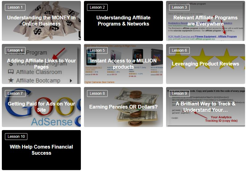 Wealthy Affiliate Module 3 Lessons