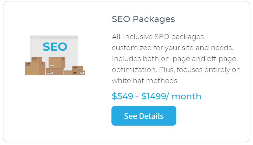 Human Proof Designs SEO Packages