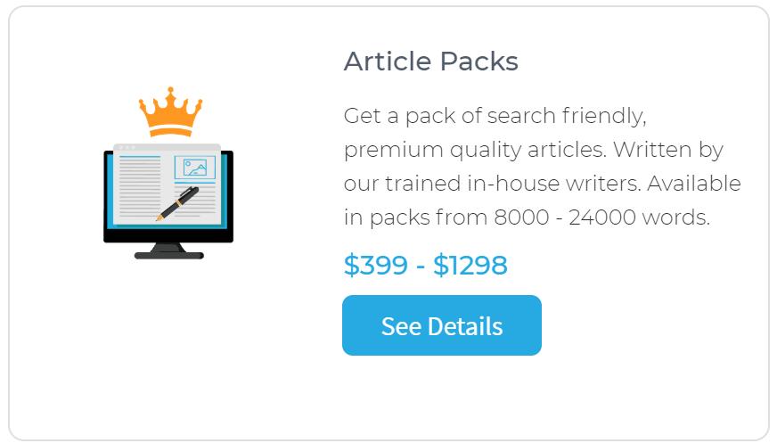 Human Proof Designs Article Packs