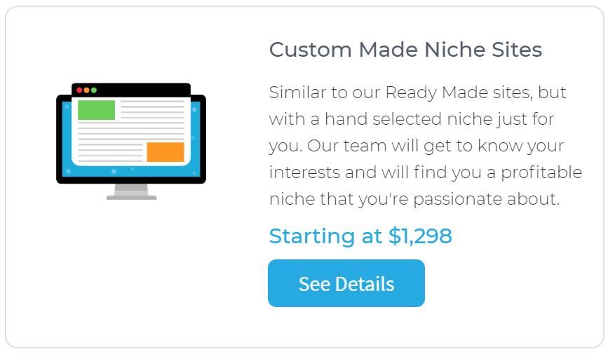 Human Proof Designs Custom Made Niche Sites